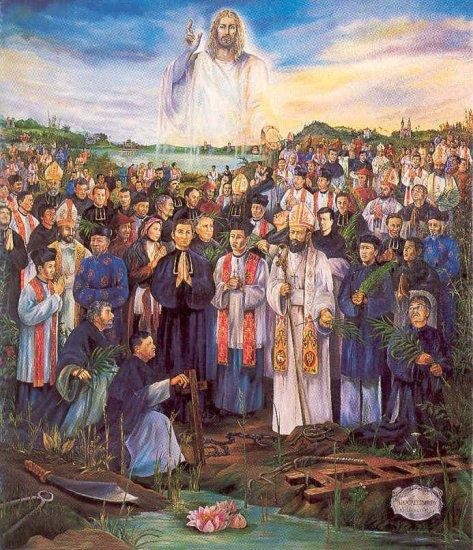 Résultats de recherche d'images pour «Thomas  Du, Prêtre O.P. martyr vietnam»